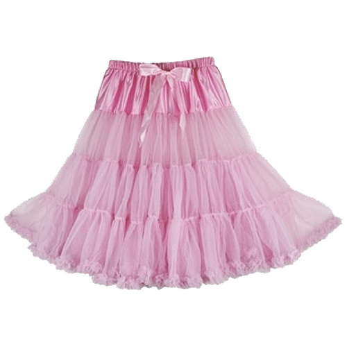 Pink super-soft rock and roll petticoat