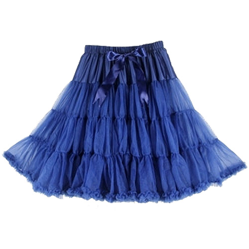 Navy super-soft rock and roll petticoat