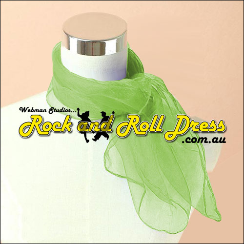 Shamrock 50s rock and roll scarf