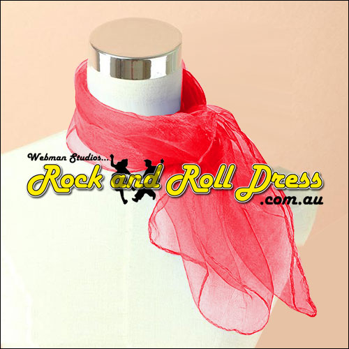 Ruby 50s rock and roll scarf