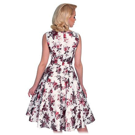 Hearts and Roses Aphrodite swing dress in AU Sizes 6-14