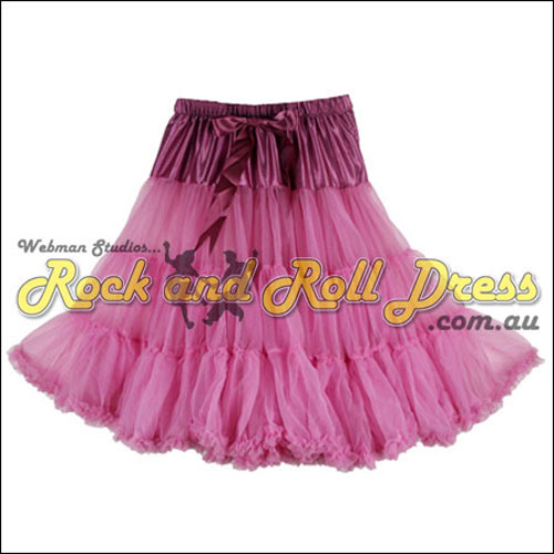 Image of 65cm 1 layer super-soft dusty retro vintage petticoat