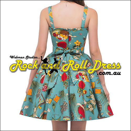 Viva Amor knee length rock and roll dress S-XL