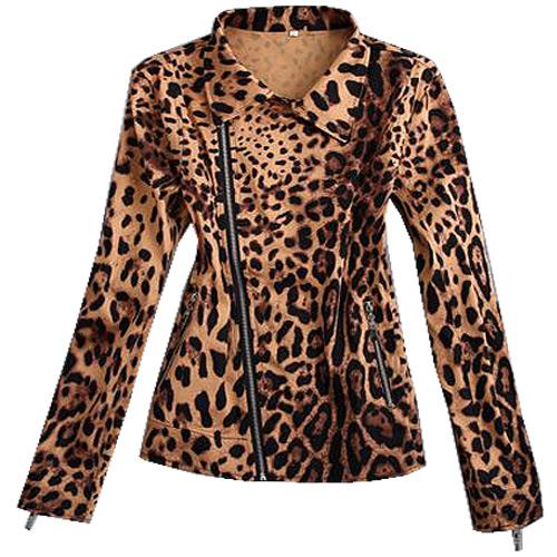 Image of Bengaline leopard print jacket