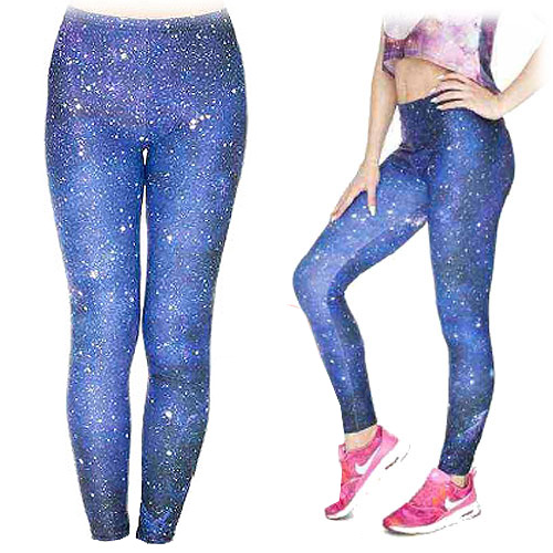 Zahora galaxy leggings size XS-L