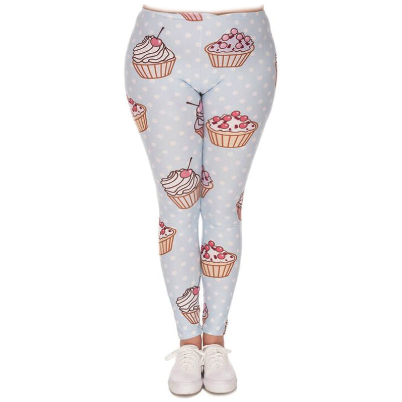 Zahora cupcake plus size leggings