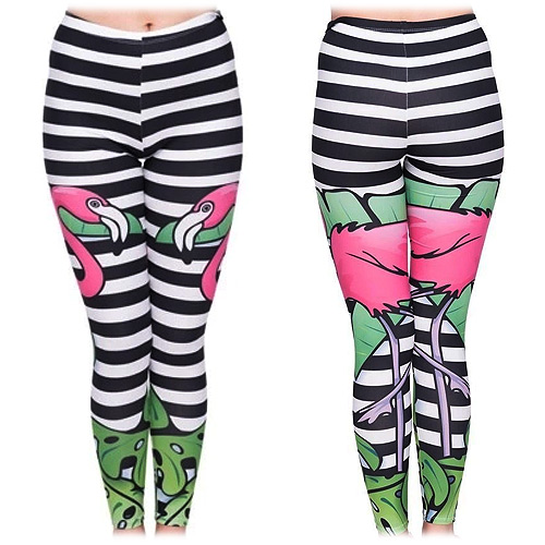 Zahora flamingo leggings size XS-L