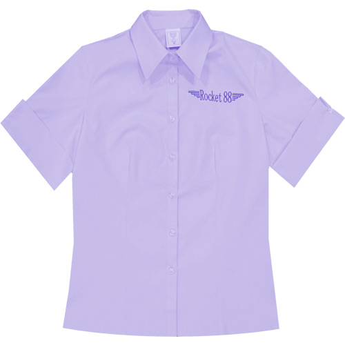Rocket 88 pastel lilac Rosie workshirt S-4XL