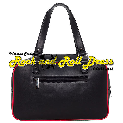 Sourpuss mod block black purse