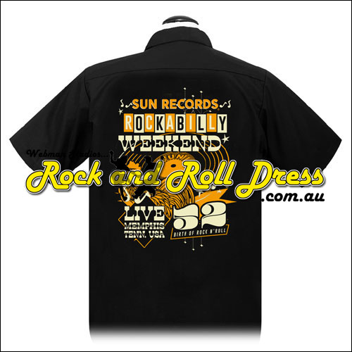 Sun Records rockabilly weekend shirt