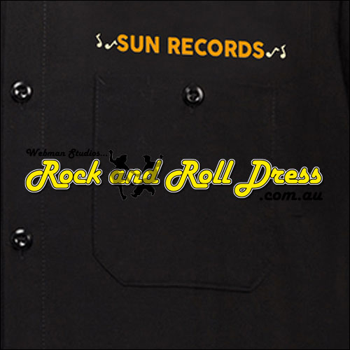 Sun Records rockabilly weekend garage shirt