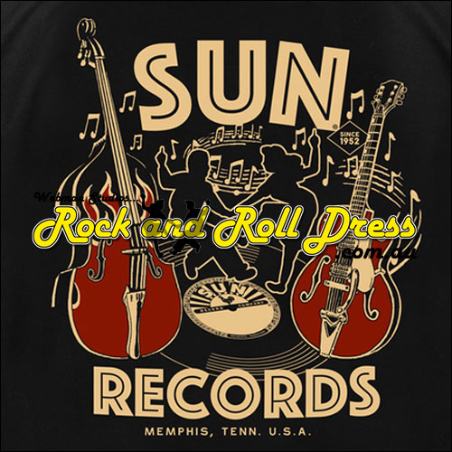 Sun Records rock and roll dance garage shirt
