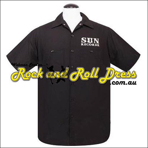 Sun Records rockabilly lifestyle shirt