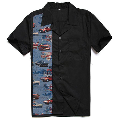 Cruisin' USA rock and roll shirt