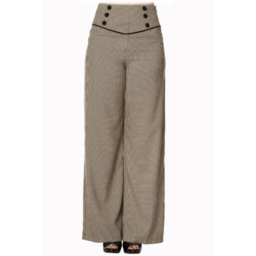Image of Fawn high waist ladies swing pants