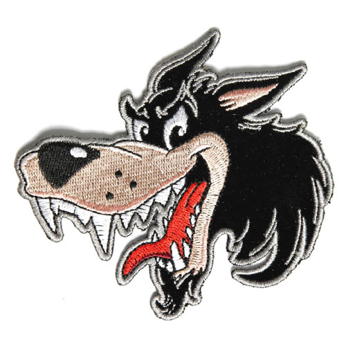 Image of BBW Big Bad Wolf patch