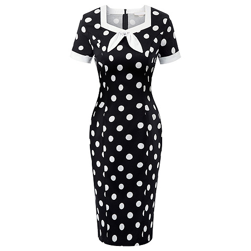 Miss Julie polka dot rockabilly dress S-XL
