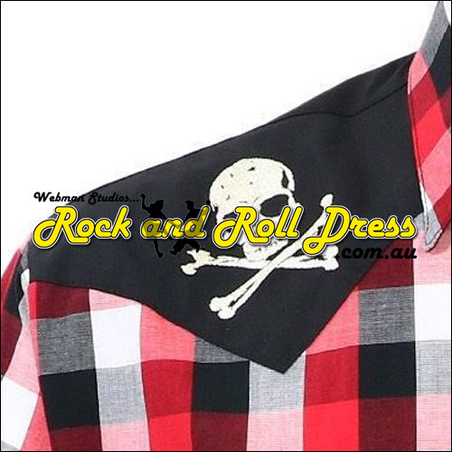 Rock Steady chaos yoke rock and roll rockabilly shirt