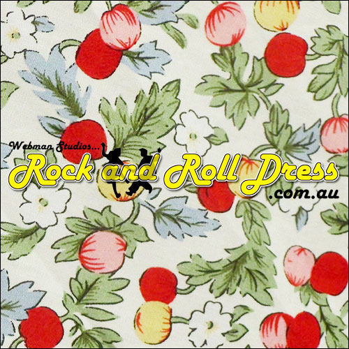 Cherry Berry rock and roll skirt S-XL