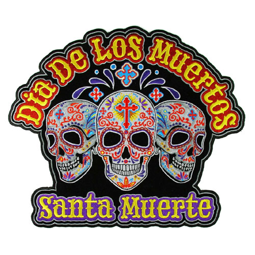 Image of Day of the Dead patch (Large)