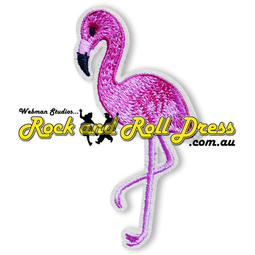 Image of Pink Flamingo patch