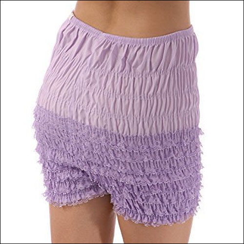 Image of Lavender retro vintage frilly dance shorts