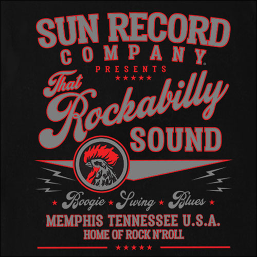 Sun Records rock and roll sound garage shirt