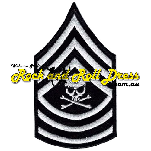 Sergeant skull patch