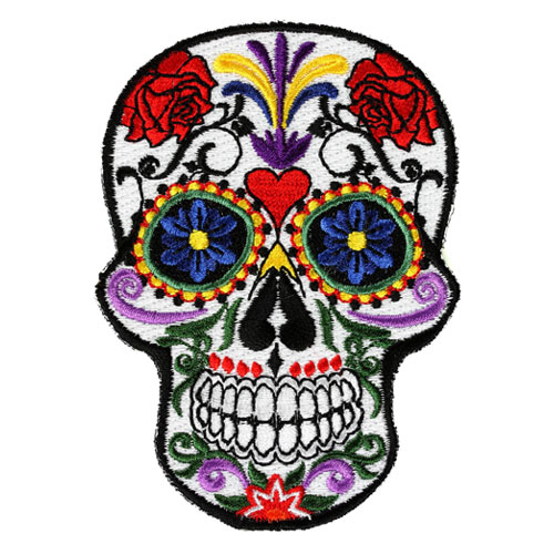 Sugar Skull patch (Large)