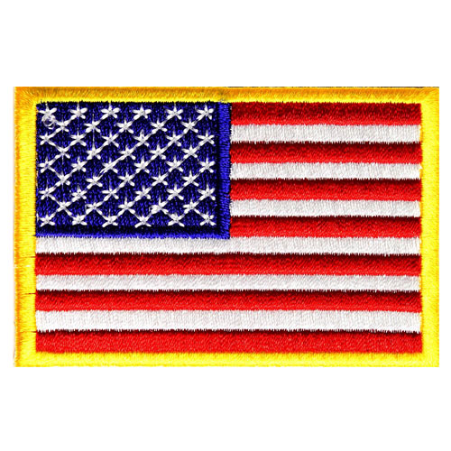 America flag patch - USA flag patch